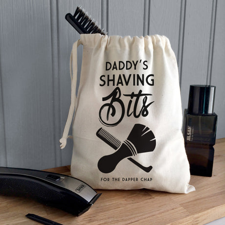 Personalised Men's Shaving Pouch