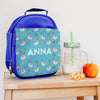 Personalised Lunch Bag With Tropical Sloths Design