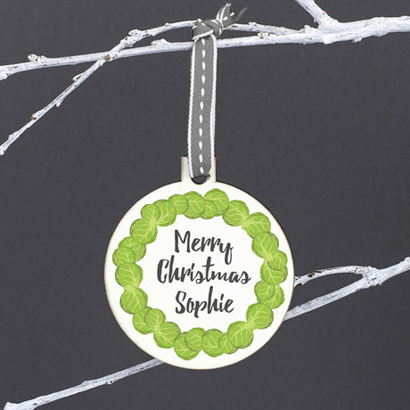 brussel sprout bauble