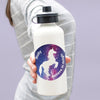 Personalised Stardust Unicorn Water Bottle