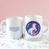 Personalised Stardust Unicorn Mug