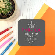 teacher coaster gift
