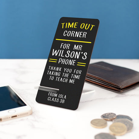 teacher phone stand