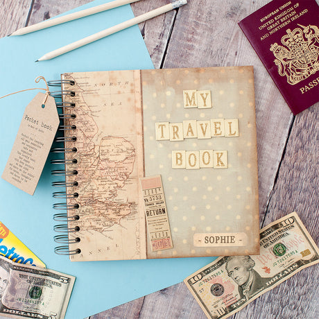 travel keepsake book