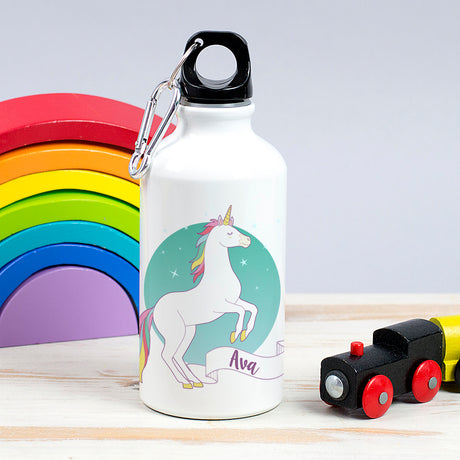 Children's Personalised Unicorn Water bottle