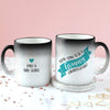 Personalised 'Grandma To Be' Secret Colour Changing Mug