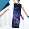 Personalised Zodiac Metal Bookmark