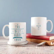 Personalised 'Best Daddy Ever' Secret Message Mug