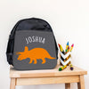 Personalised Triceratops Dinosaur Mini Backpack