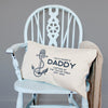 Personalised 'Captain' Daddy Anchor Cushion