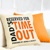 Personalised cushion for dad
