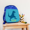 Personalised Insulated T-Rex Lunch Bag
