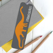 Children's Personalised 'Dinosaur' Fabric Pencil Case