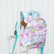 children's flamingo backpack