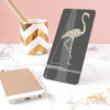 flamingo phone stand