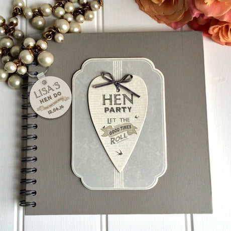 hen party scrap book