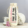 wedding wine bag