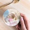 Personalised 'I Love You Mummy' Photo Coaster