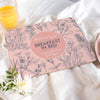 Personalised Breakfast In Bed Placemat