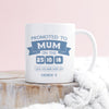 Personalised 'Promoted To Mum' Keepsake Mug