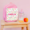 Personalised Lunch Bag With Tropical Flamingo Design