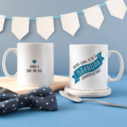 Personalised 'Grandpa To Be' Secret Colour Changing Mug