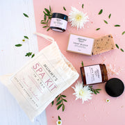 Personalised Organic Spa Kit In A Bag