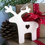 Wooden Paint Your Own Reindeer Decoration