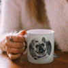 Personalised photo mug for pet owner