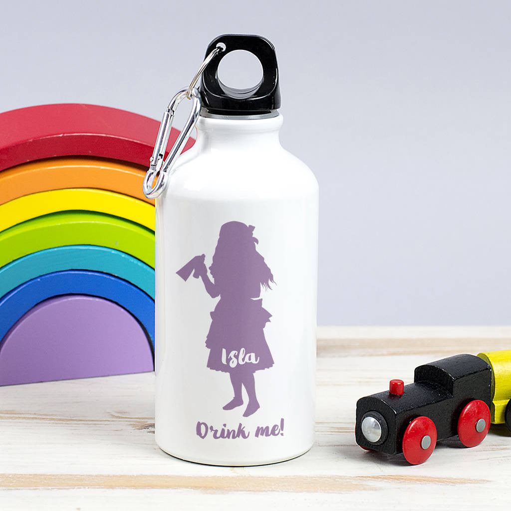 personalised childrens water bottle