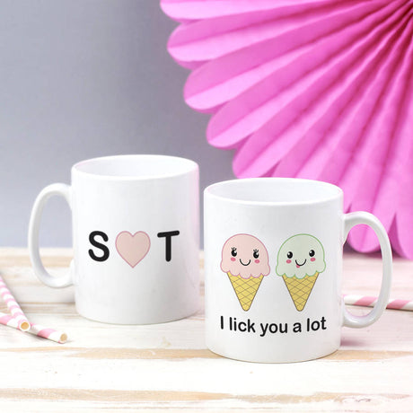 funny ice cream mug
