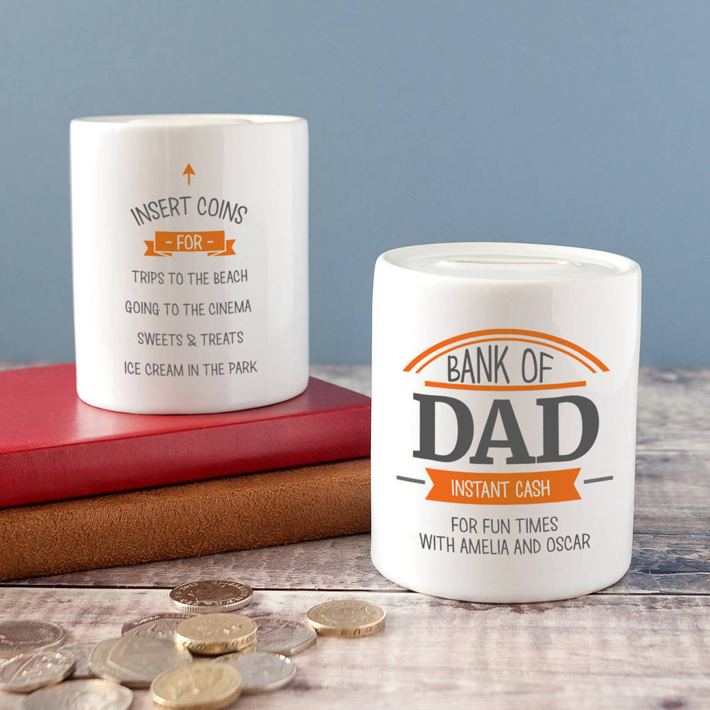 money box for dad