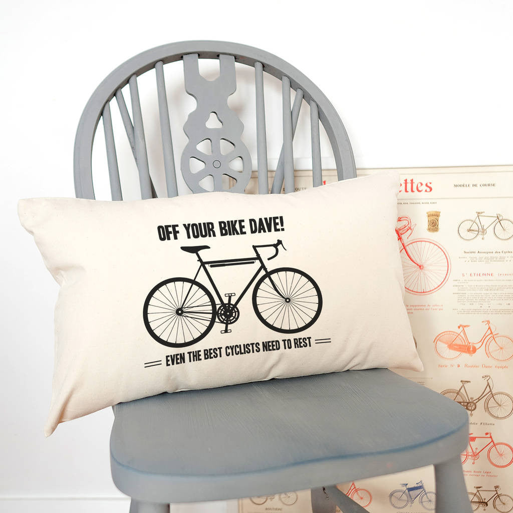 cyclist cushion