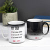 Personalised magic mug for dad