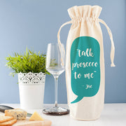 personalised wine bag gift