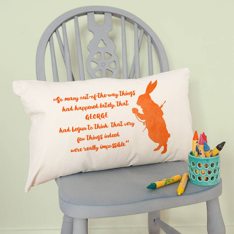 bunny cushion