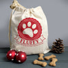 Personalised Christmas Pet Treat Bag
