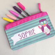 Children's Personalised Wise Owlet Waterbottle
