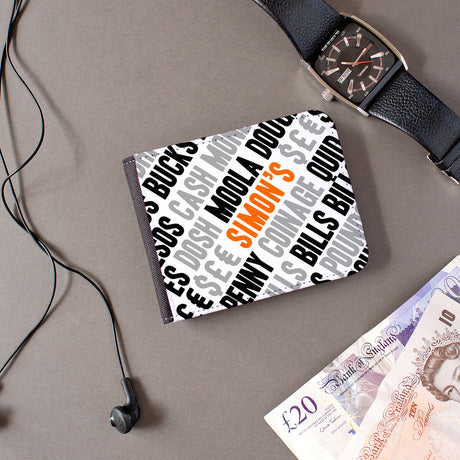 personalised mens wallet