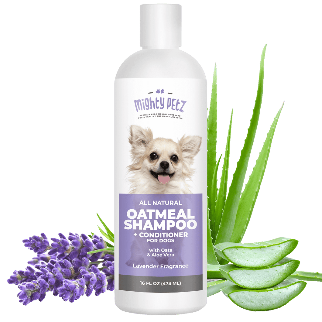 Pet shampoo and conditioner, 16 oz