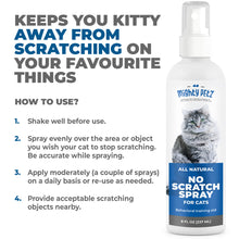 Load image into Gallery viewer, All natural Anti Scratch Spray for cats, 8 oz