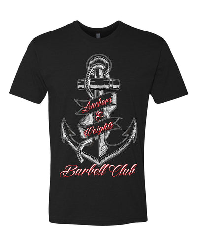 Anchors & Weights Barbell T-Shirt