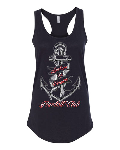 Anchors & Weights Barbell Tank