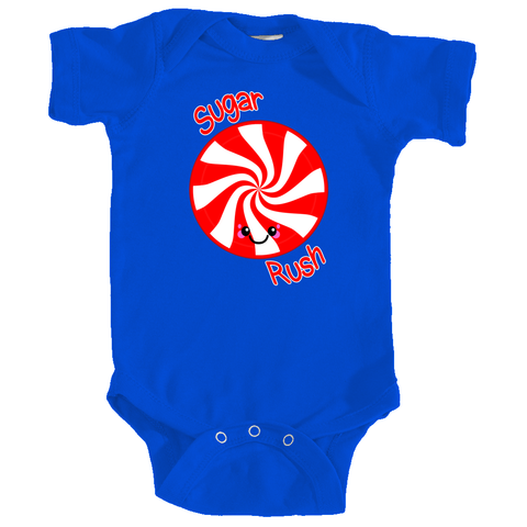 Sugar Rush Peppermint Candy Infant Bodysuit
