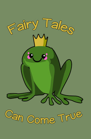 Fairy Tales Can Come True Frog Prince Journal