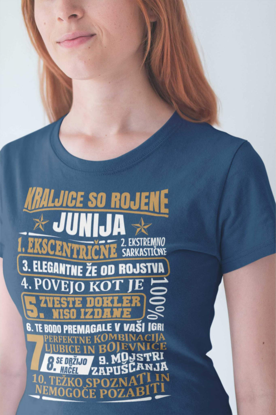 Outlet Majica Kraljice So Rojene Junija