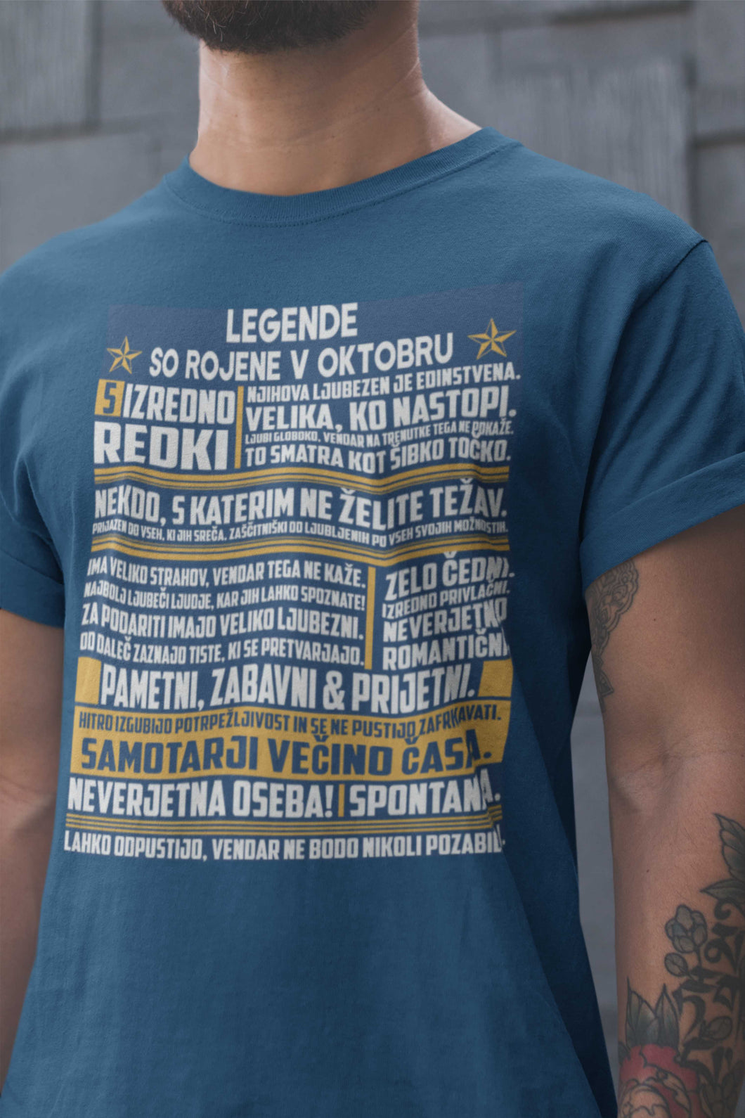 Majica Legende So Rojene Oktobra