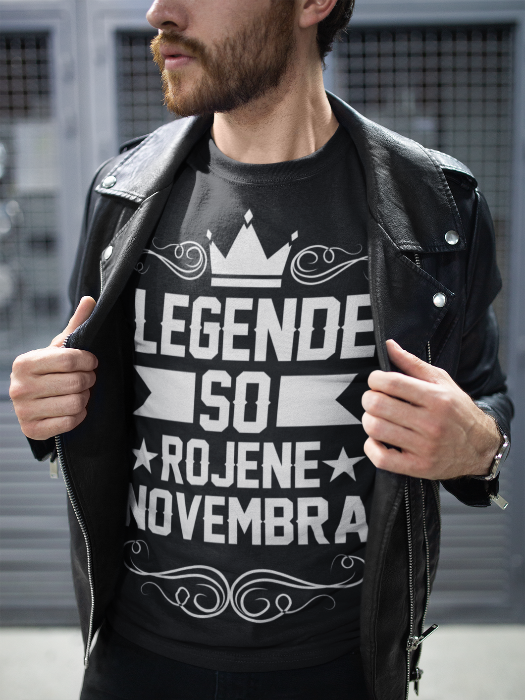 Majica Legende So Rojene - Novembra