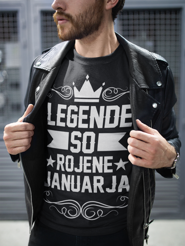 Majica Legende So Rojene - Januarja