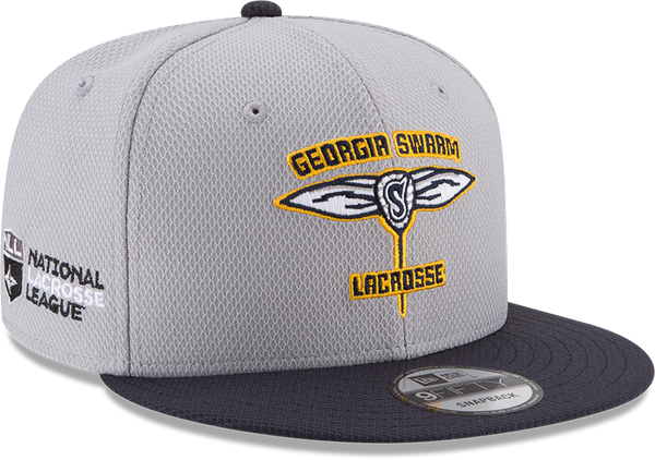 GA Swarm Cap - New Era Snapback NLL (Grey/Navy)